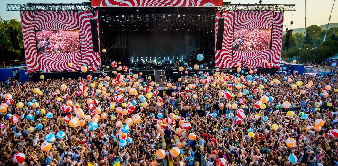 Die 5 Festivaltypen beim Sziget Festival