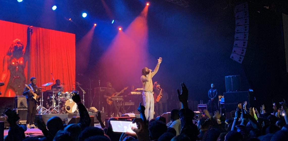 Burna Boy - The African Giant schlägt beim ersten Konzert in Wien voll ein