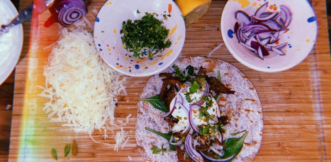 Kochneuling Eugen's Rezepte für Anfänger #1 - Pulled Pork in New York Style Wraps