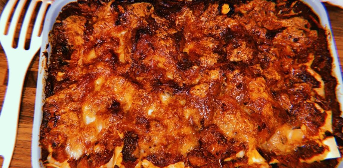 Kochneuling Eugen's Rezepte für Anfänger #3 - Double Cheese Gemüse Lasagne