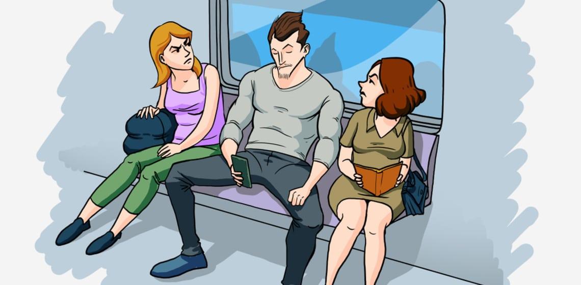 Dominanzgesten von Männern: 4 Typen und ihre Eigenheiten