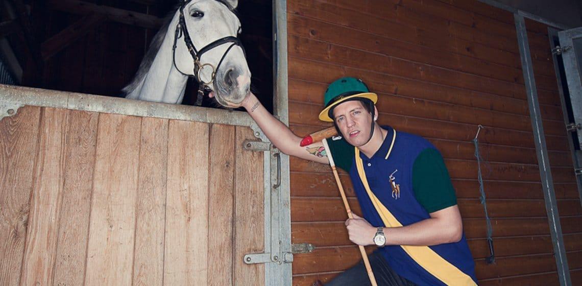 Moneyboy Porträt mit Pferd