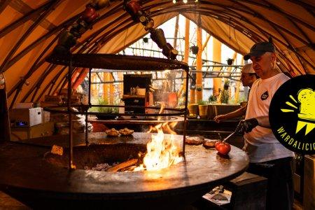 Wardalicious: Feuerdorf im Wiener Prater - einzigartiges BBQ und grandiose Drinks