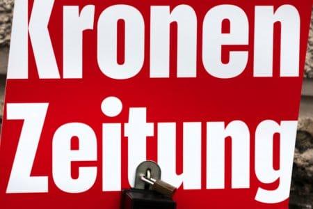 Kronen Zeitung pietätlos - Veröffentlichung falscher Informationen über einen Verstorbenen