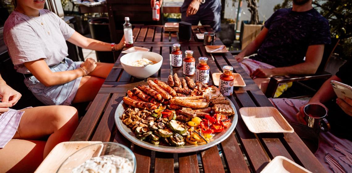 BBQ bei Warda mit Das Österreicher Saucen