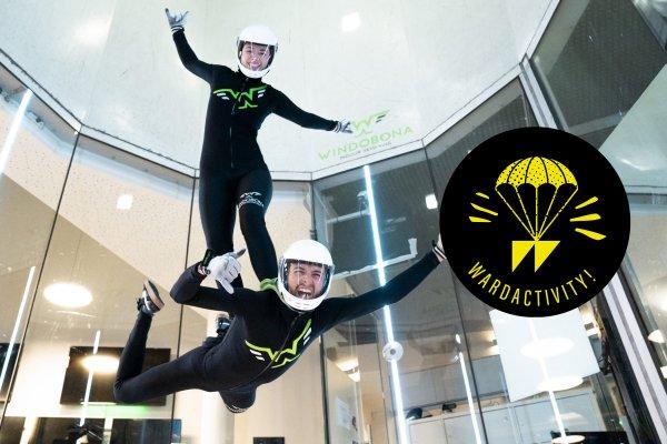 Wardactivity: Indoor Skydiving im Windobona - Adrenalin pur im Höhenflug!