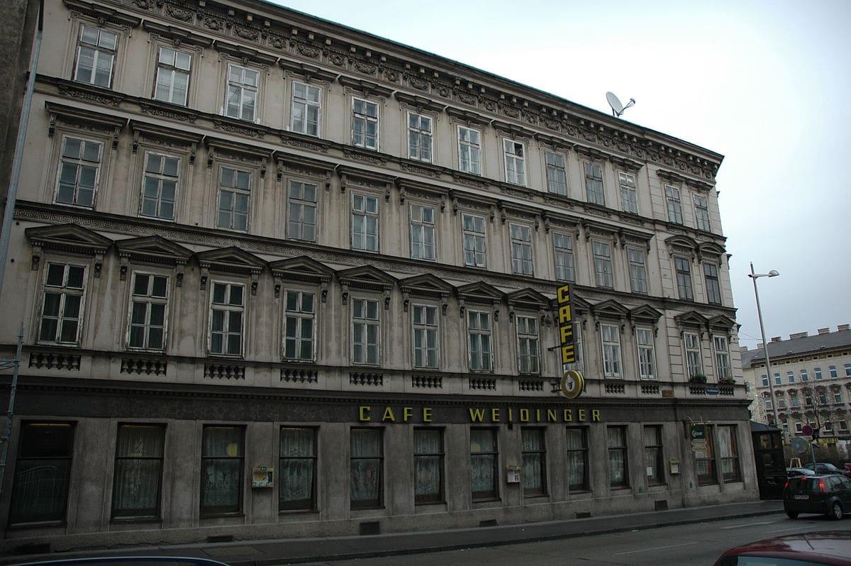 Das Cafe Weidinger in Wien