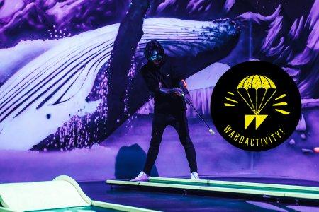 WARDACTIVITY: Blacklite Arena in Wien - was für ein abgefahrenes Minigolf
