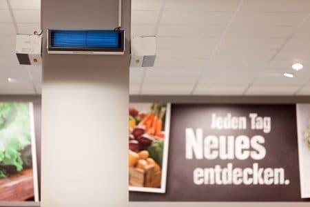UV-C Licht gegen Corona – Supermarkt testet neuen Ansatz
