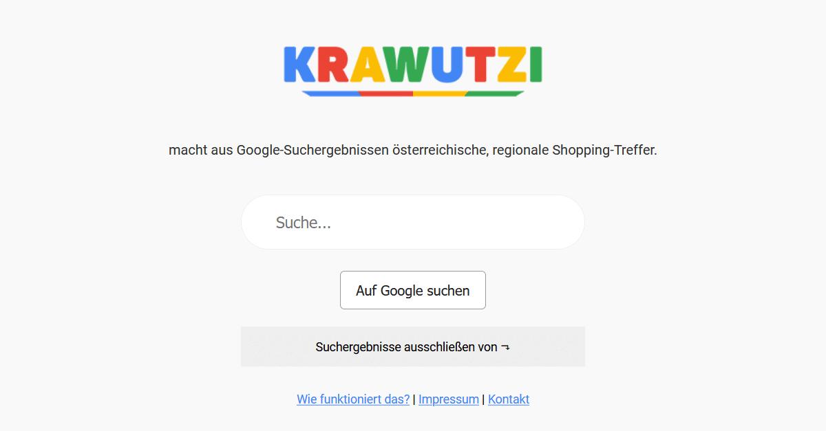 Screenshot 2020 12 19 KRAWUTZI Osterreich farbt Google Suchergebnisse rot weis rot  e1608392613186