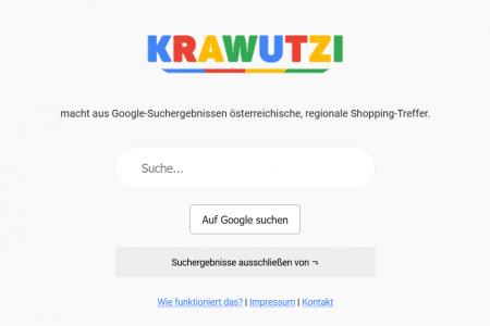 Krawutzi: Internetrevolution gegen Google made in Austria