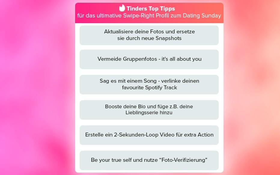 Tinder Tipps