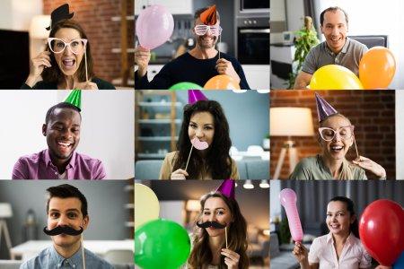 10 coole Ideen für eine virtuelle Party und lustigere Videochats