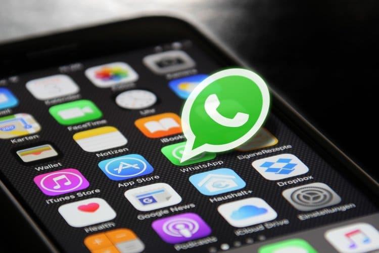 Datenschaut auf WhatsApp Änderungen