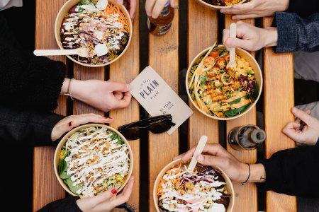 Essen bei PLAIN in Wien: schnell, gesund, vegan und richtig schmackhaft
