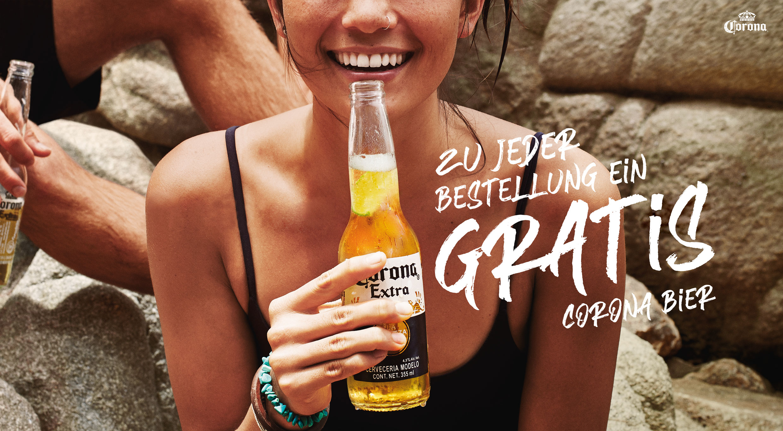 corona bier gratis 2021