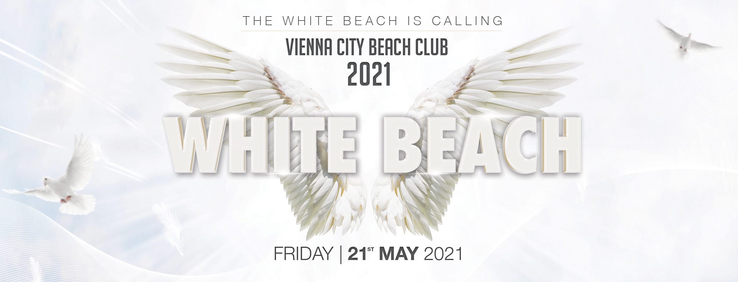 Events Wien: White Beach 21/05/2021