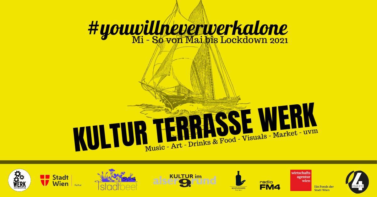 Events Wien: KulturTerrasse WERK #1