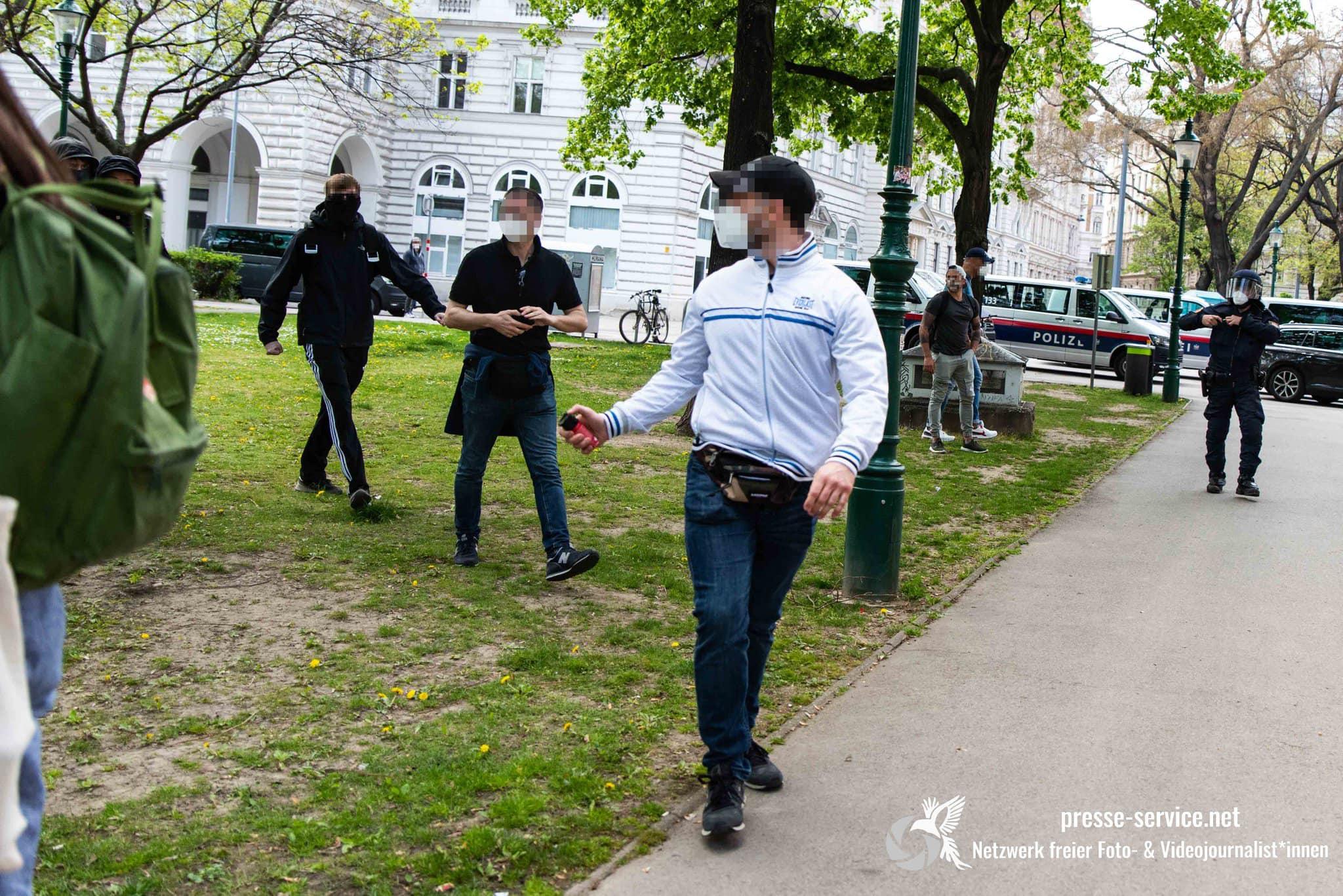 Presseservice Wien Polizeigewalt Mayday