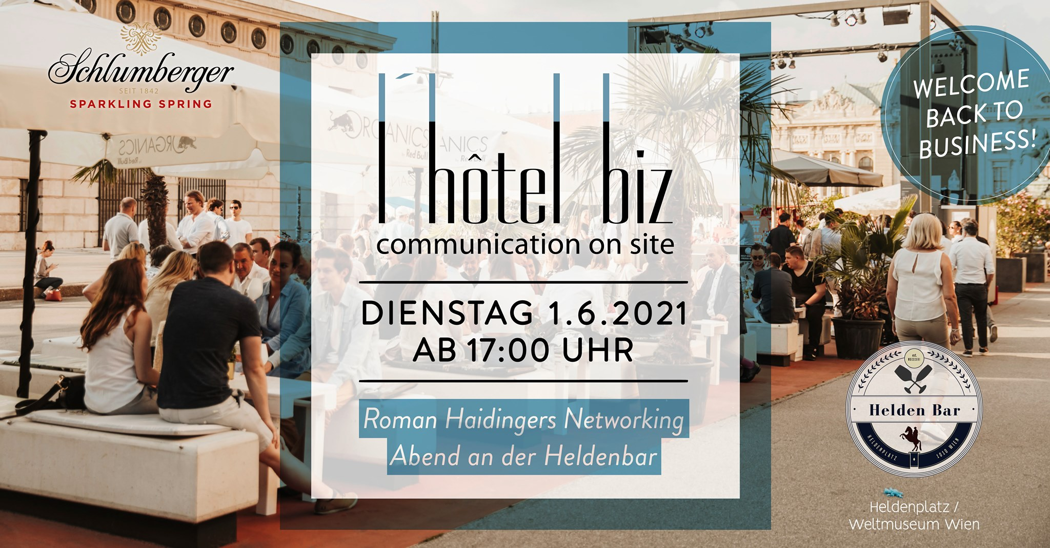 Events Wien: L'HOTEL BIZ – Welcome back to business!