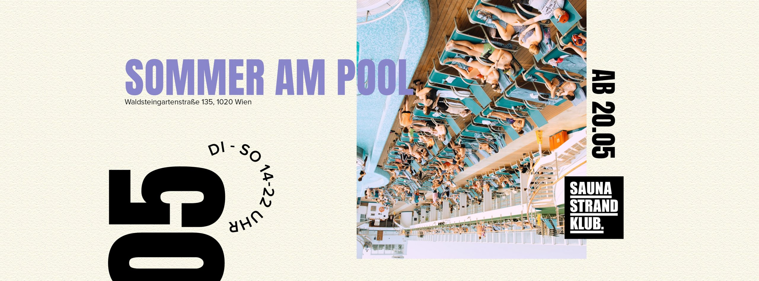 Events Wien: Sommer am Pool Opening