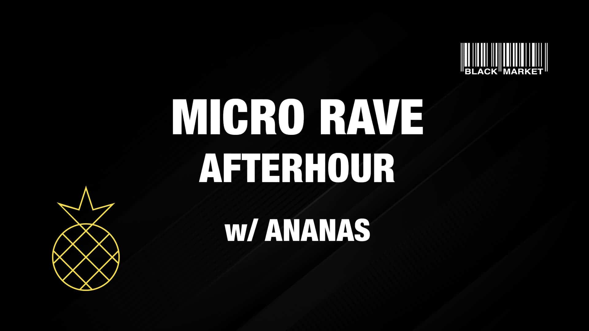 Events Wien: MICRO RAVE AFTERHOUR #1 w/ ANANAS