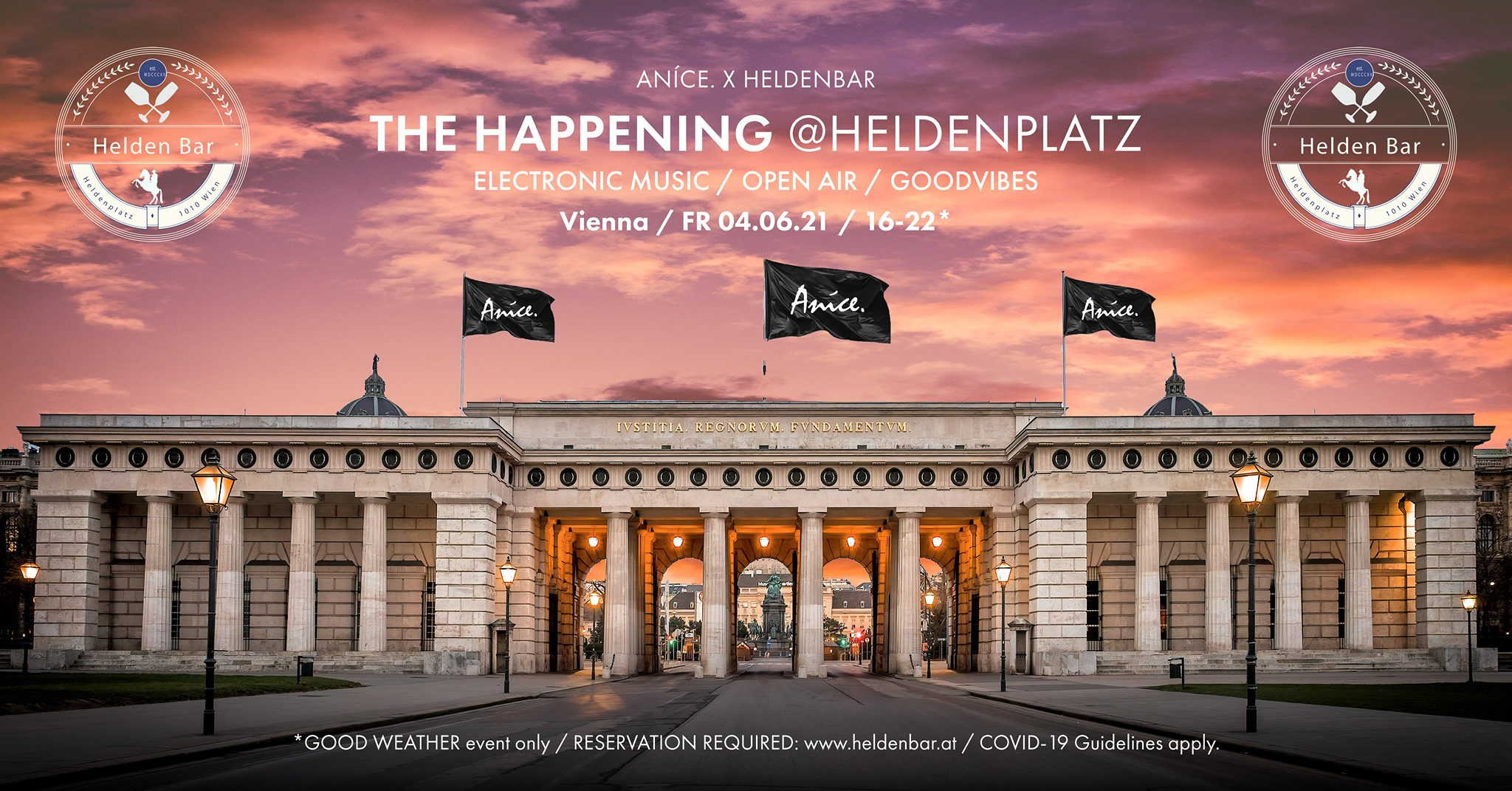 Events Wien: ANÍCE. – THE HAPPENING
