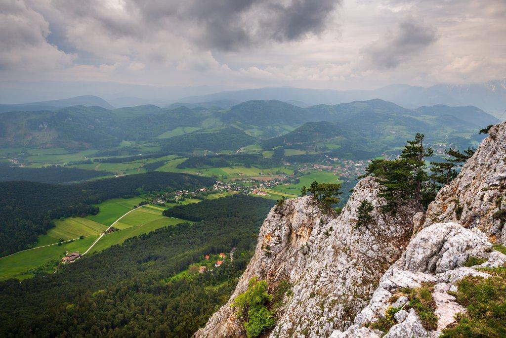 Klettersteig um Wien