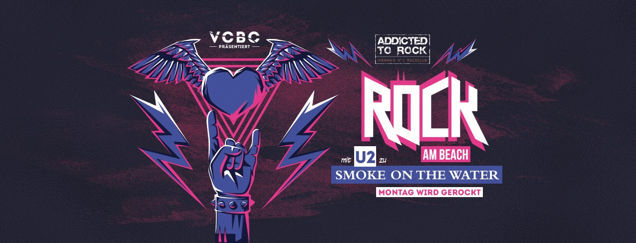 Events Wien: Rock am Beach powered by Addicted to Rock