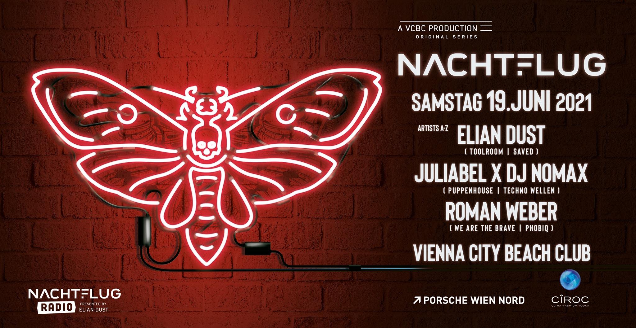 Events Wien: Nachtflug N190621