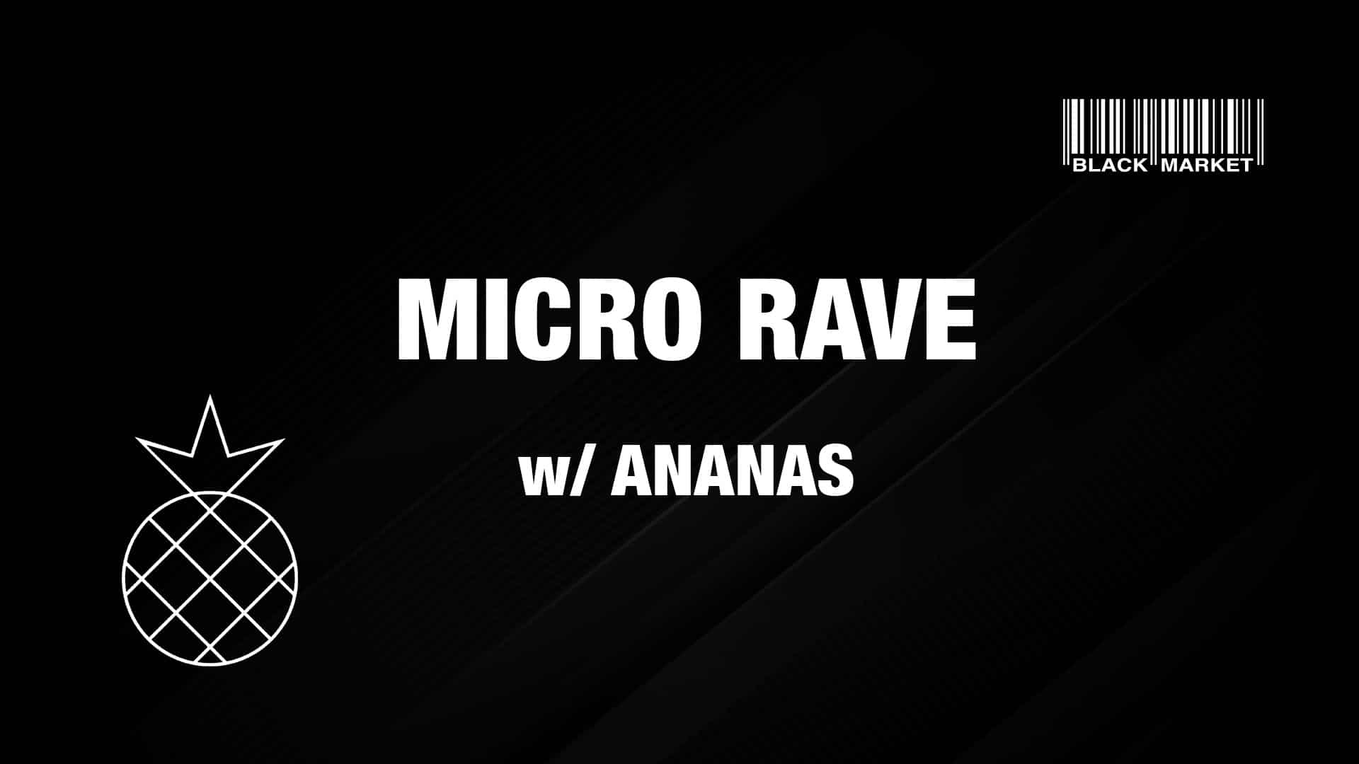 Events Wien: MICRO RAVE #9 w/ ANANAS