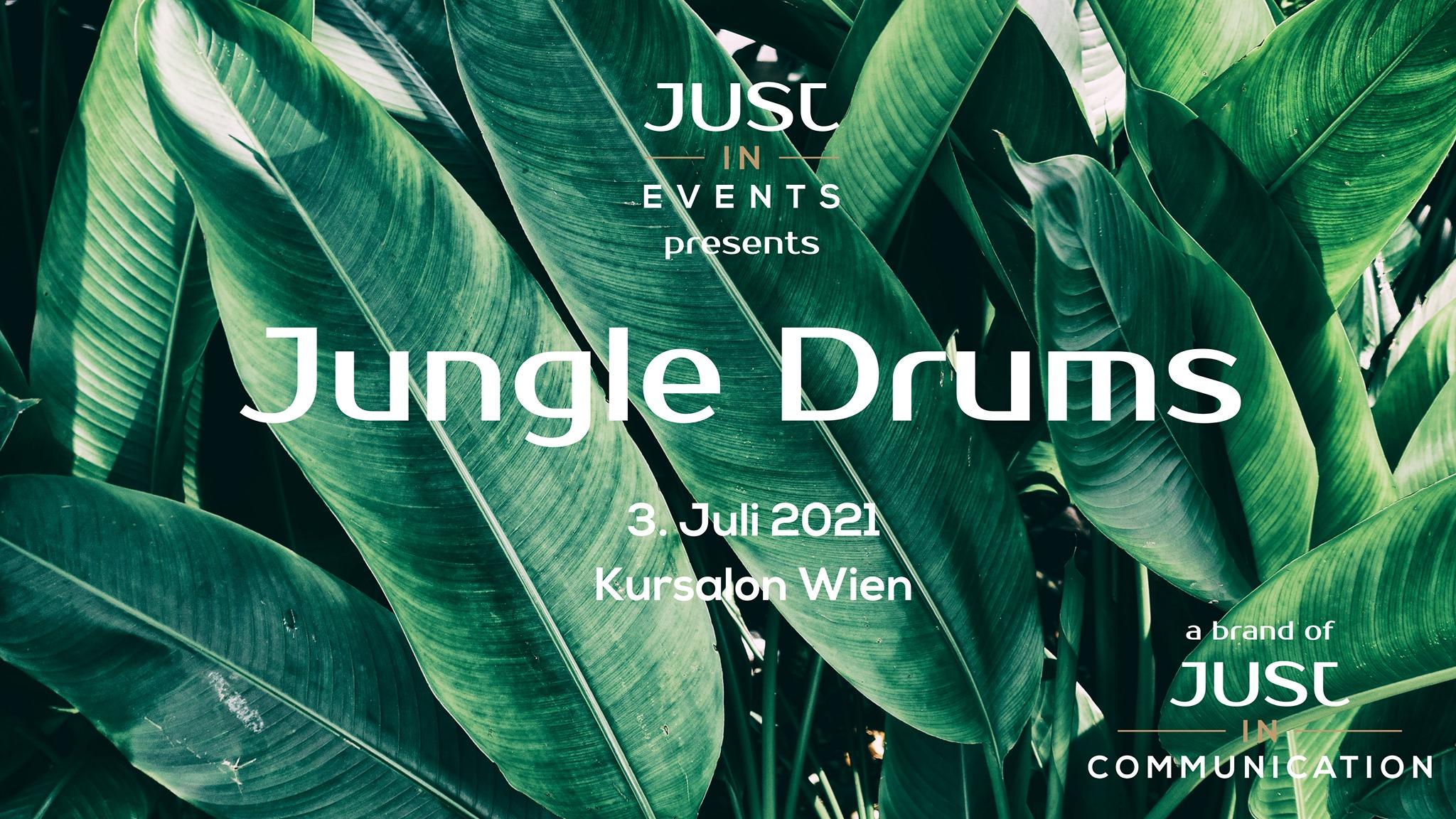 Events Wien: Jungle Drums – Chillout & Party im Kursalon