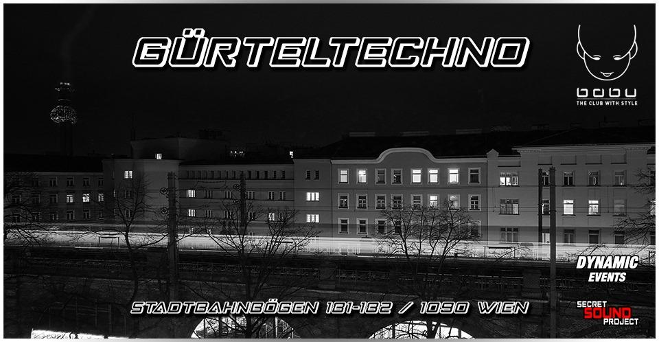 Events Wien: GÜRTELTECHNO