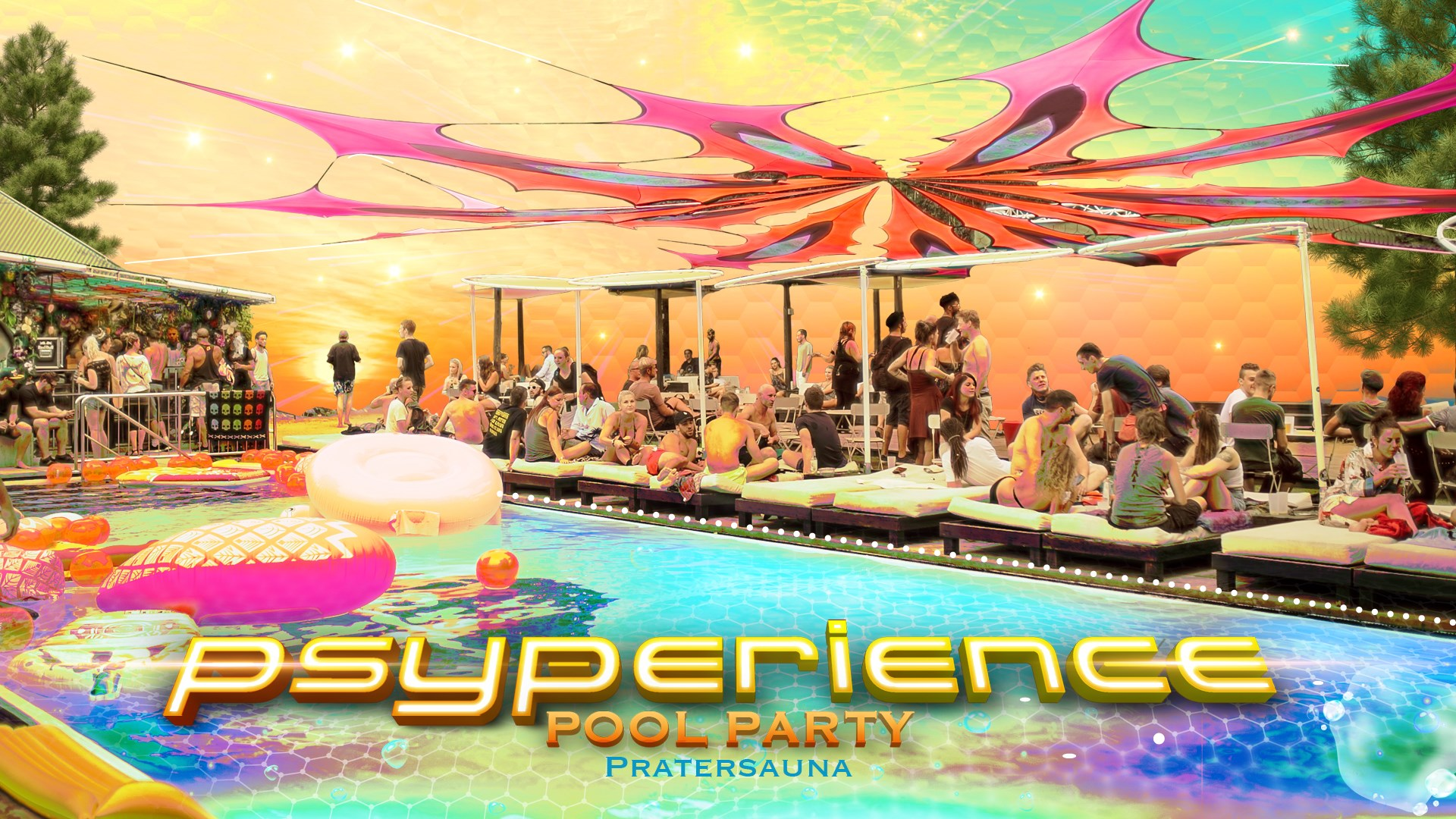 Events Wien: Psyperience Daytime Pool Party