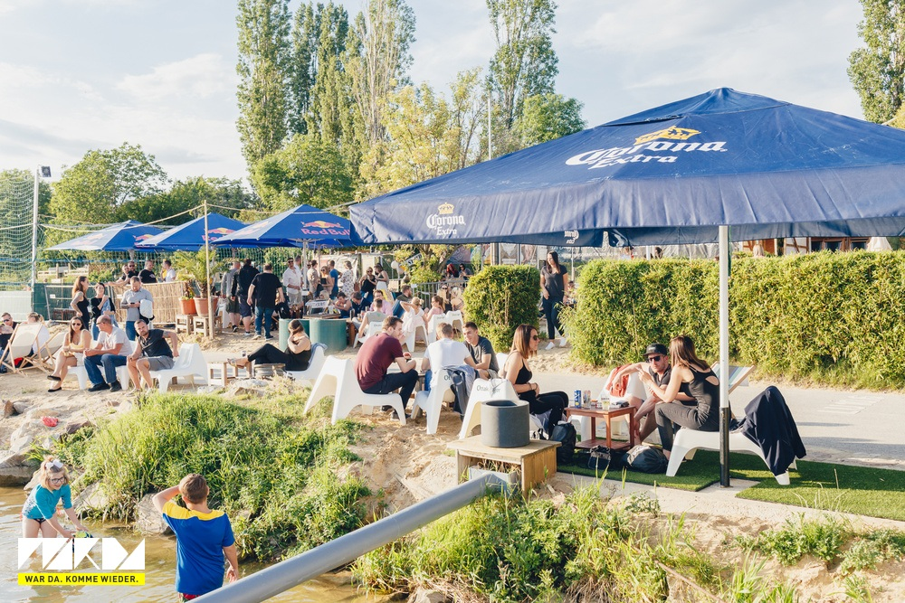 Vienna City Beach Club Outdoorbereich