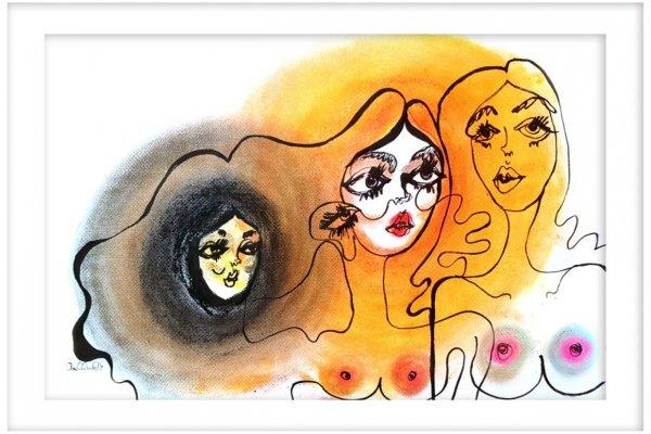 Claudia Marchetti: Selfmade Malerin als aufgehender Stern am Kunsthimmel
