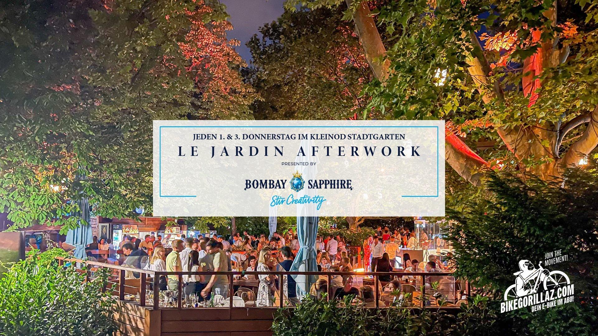 Events Wien: LE JARDIN AFTERWORK   DAS RICHTIGE OPENING