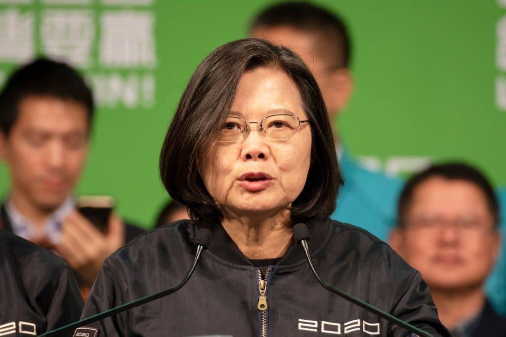 Tsai Ing-Wenein weibliches Vorbild
