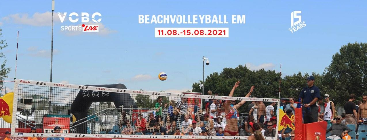 Events Wien: VCBC Sports Live – Beachvolleyball EM 2021