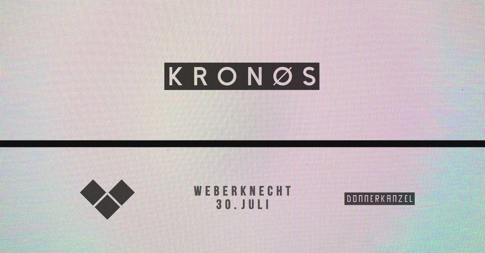 Events Wien: KRONØS I – [Techno x Visuals]