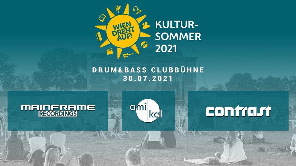 Events Wien: Drum and Bass Clubbühne @ Kultursommer Wien