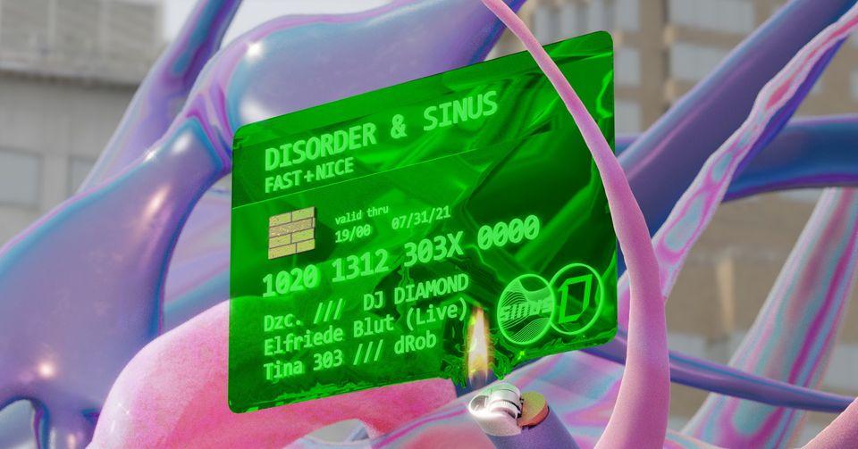 Events Wien: Sinus x Disorder Fast & Nice x Tina303   Kultursommer Wien  