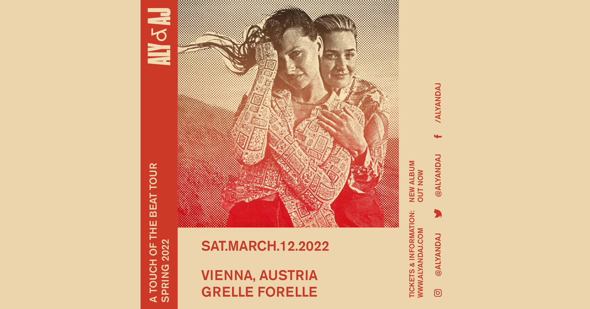 Events Wien: Aly & AJ – A Touch Of The Beat Tour // Wien