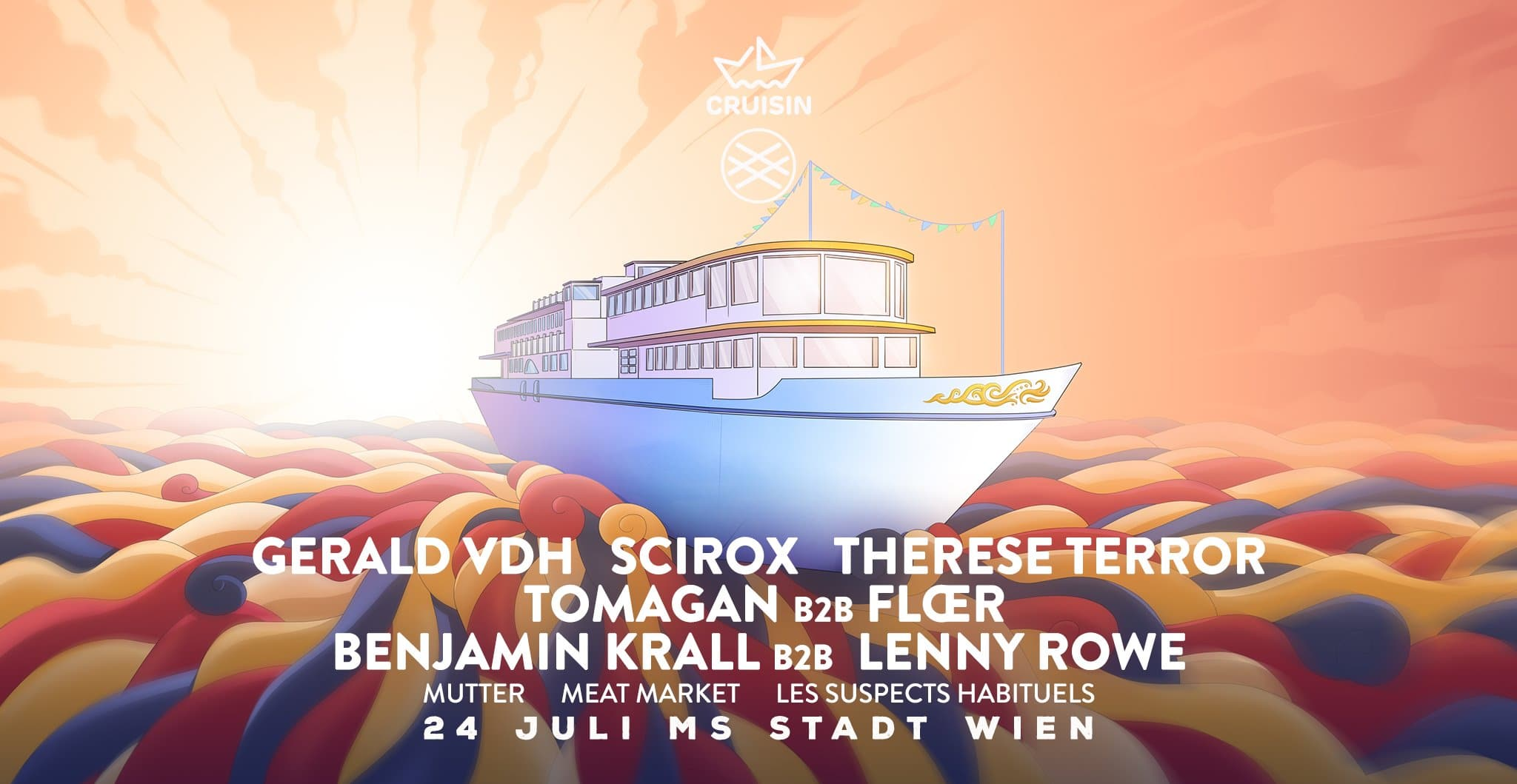 Events Wien: Cruisin w Mutter and LSH 24 Juli