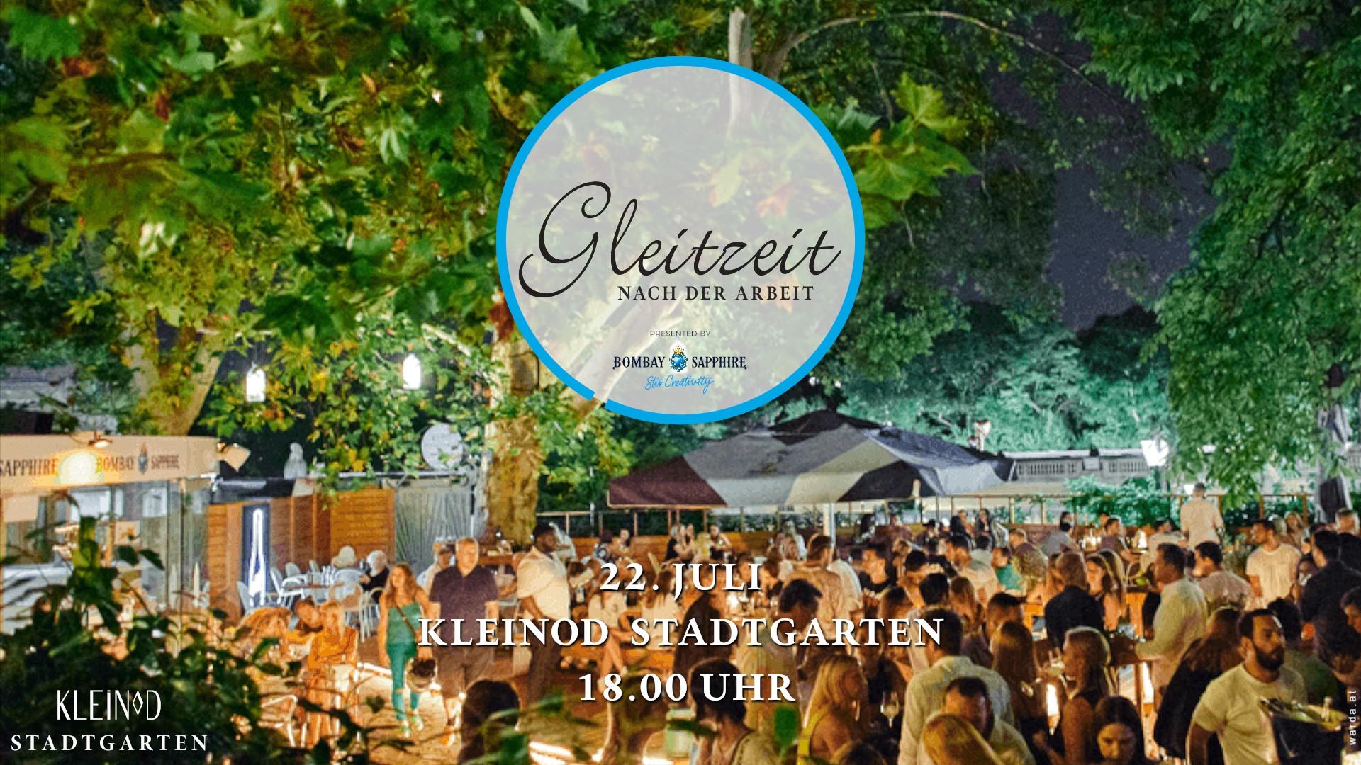 Events Wien: Gleitzeit Afterwork im Kleinod Stadtgarten – 22. Juli