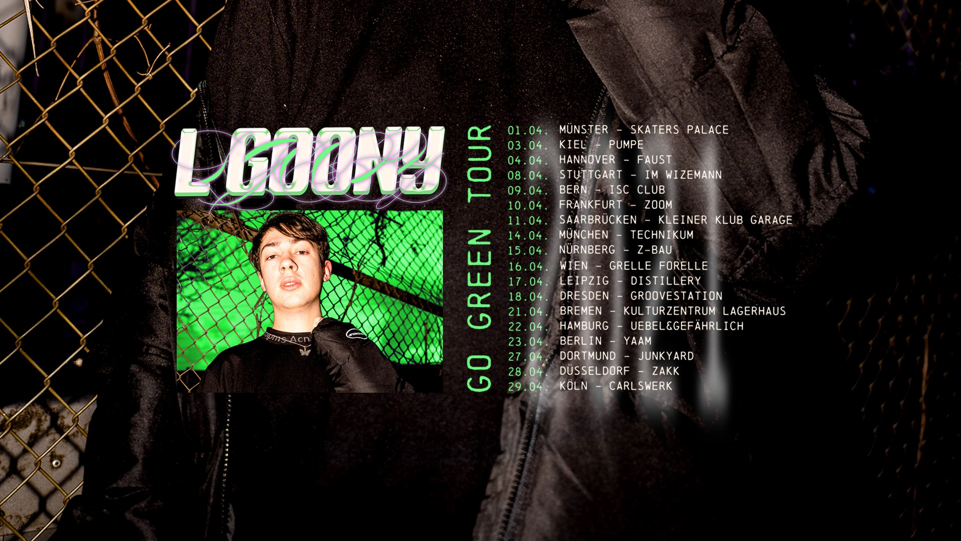 Events Wien: LGoony · Grelle Forelle · Wien 2022