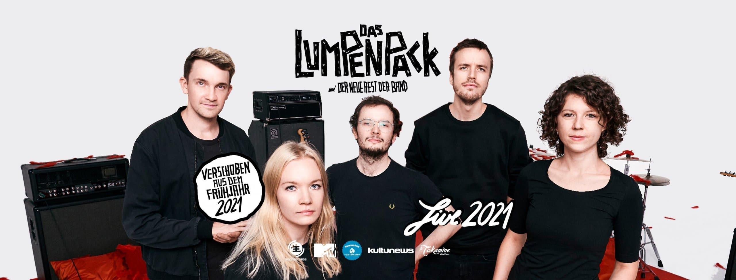 Events Wien: Das Lumpenpack • AT- Wien • Neuer Termin! 09.09.'21!