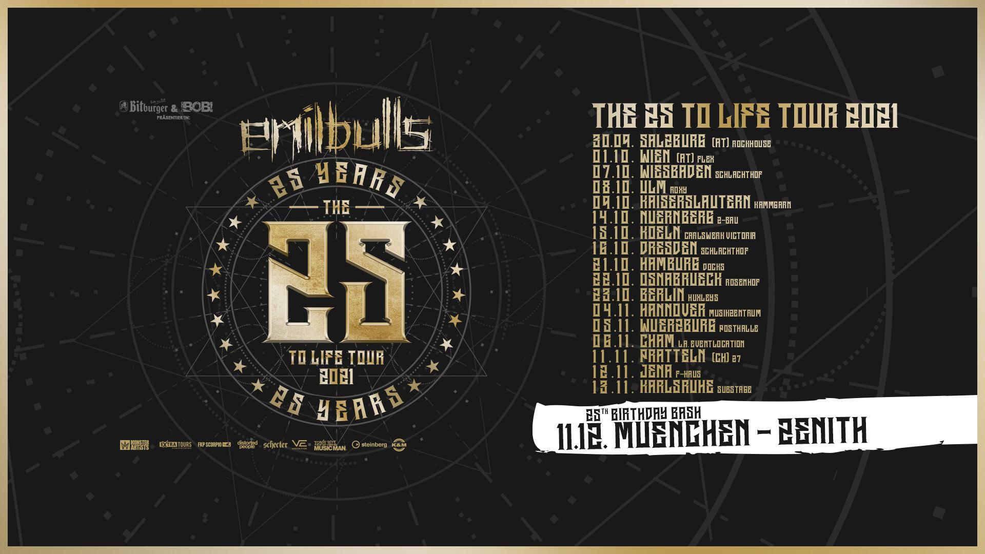 Events Wien: New Date / Emil Bulls – Wien, Flex