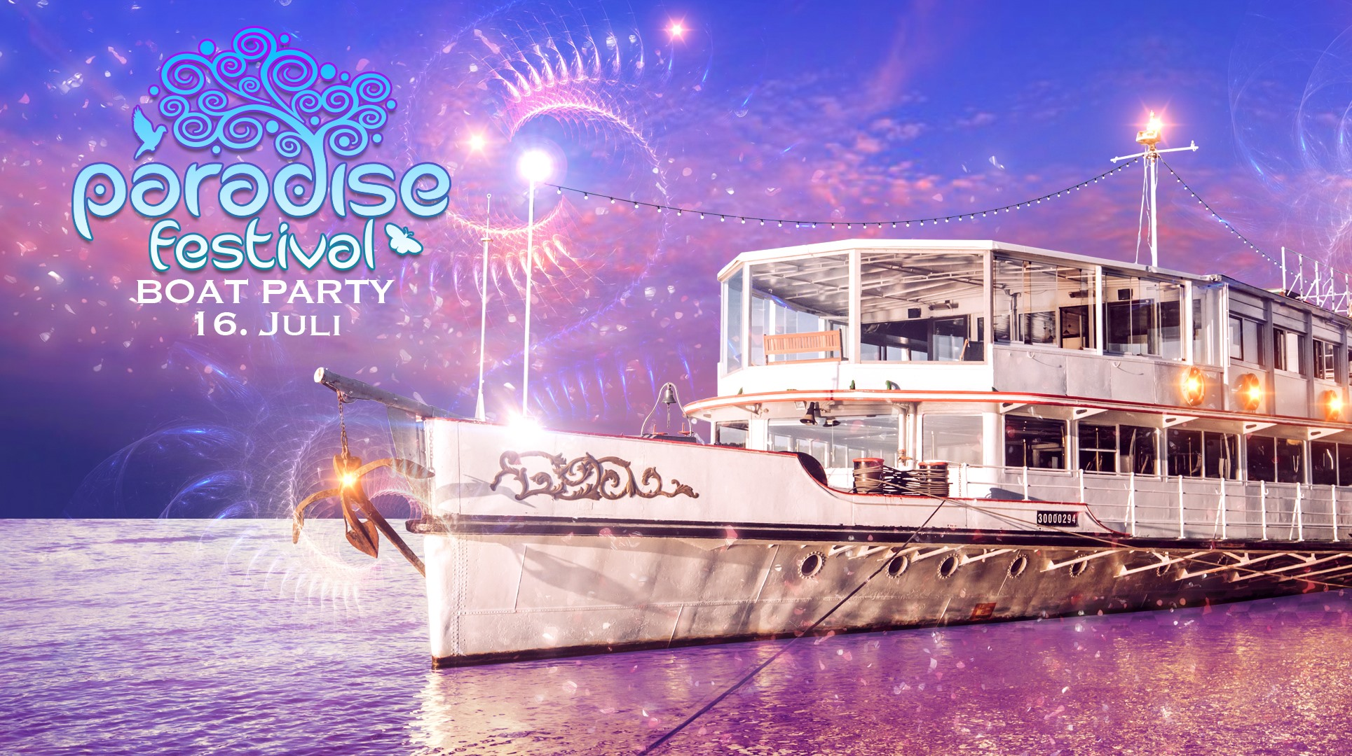 Events Wien: PARADISE FESTIVAL – Boat Special