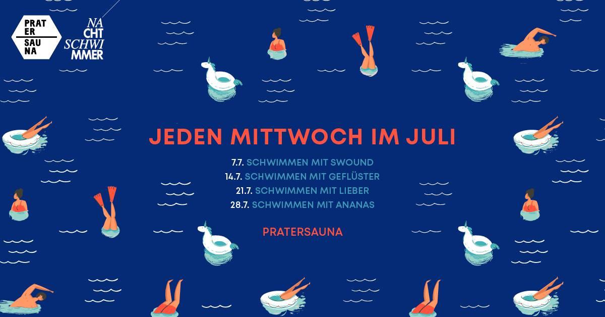 Events Wien: WEITERSCHWIMMEN/Nachtschwimmer